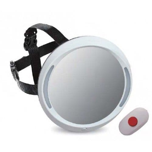 Apramo Iris Baby Mirror Deluxe with light and remote control