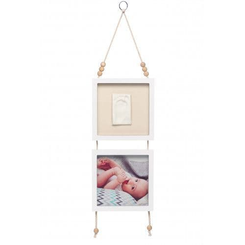 Baby Art Hanging Frame - Grey