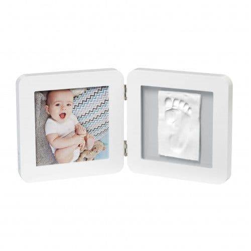 Baby Art My Baby Touch Rounded Frame - white