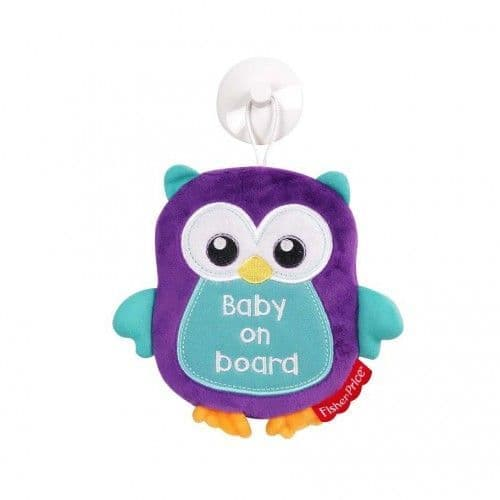 Fisher Price Woodland Baby On Board Sign