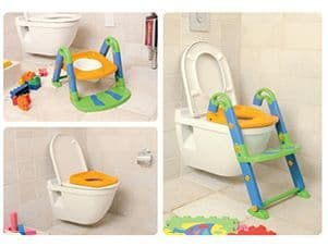Kids Kit 3 in 1 Toilet Trainer - Various Colour Combinations