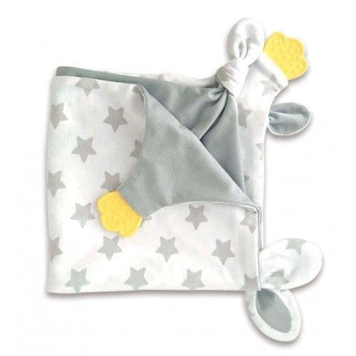 Little Chick Comfort Blankie with Chewy Teether