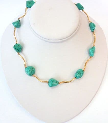 Baroque Turquoise Necklace OUT OF STOCK