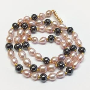 Pearl Necklaces £40 or less.        Surprise yourself!