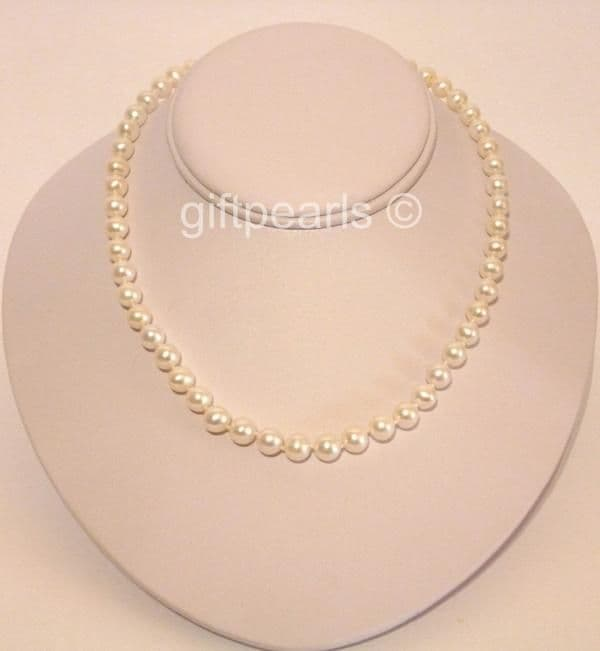 The All-Time Favourite! OUT OF STOCK Very fine quality white pearls - at an incredibly low price.