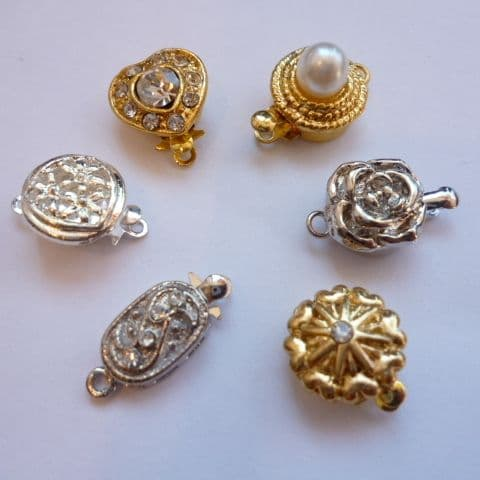 Traditional Box Clasps