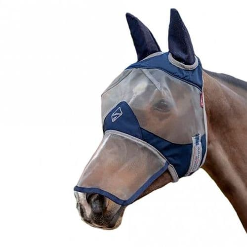 LEMIEUX Armour Shield Protector Full Fly Mask (Ears & Nose)