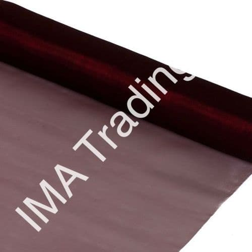 Burgundy Organza Fabric Roll 80cm X 25m