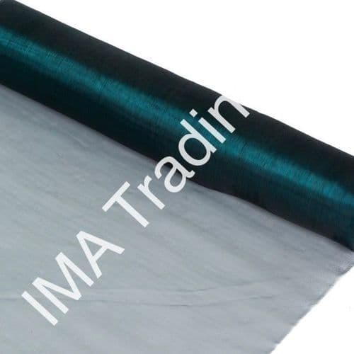 Emerald Green Organza Fabric Roll 80cm X 25m