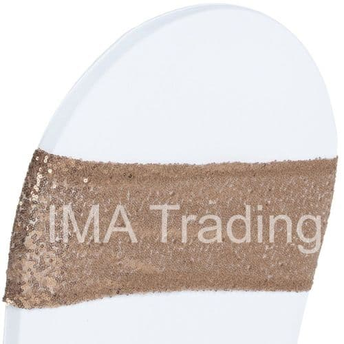 Nude Sequin Chair Band