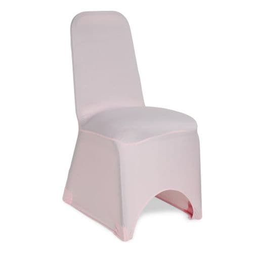 PINK SPANDEX CHAIR COVER