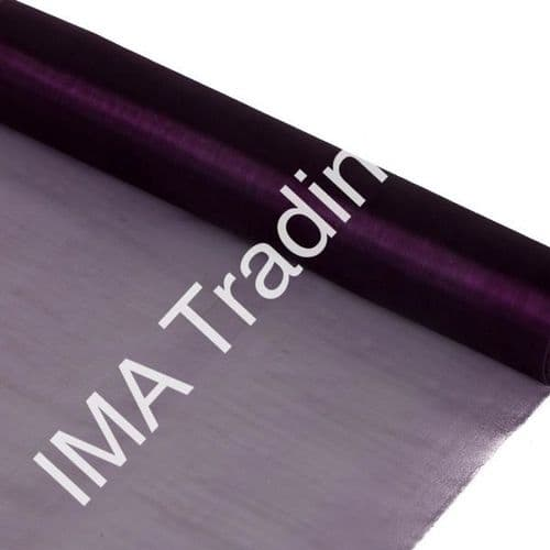 Purple Organza Fabric Roll 80cm X 25m