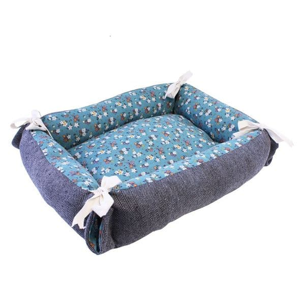 Tabby Chic Floral Cat Bed