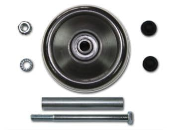 Complete front wheel assembly kit for Powakaddy. Also suitable for TopCart
