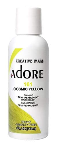 Adore Hair Color Cosmic Yellow 161