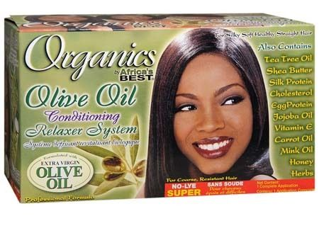 Africa Best ORGANICS No-Lye Conditioning Relaxer Kit- SUPER