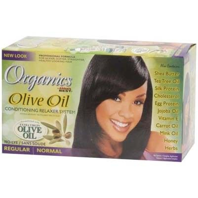 Africa's Best Olive Oil  Relaxer System- REGULAR twin