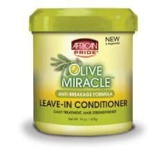 African Pride Olive Miracle Leave-in Conditioner 425g