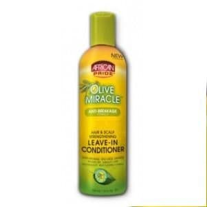 African Pride Olive Miracle Strenghtening Leave-in Conditioner 355ml