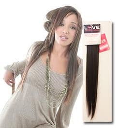 "Afro Relaxed Clip In Human Hair Extensions 18"" Normal Shades"