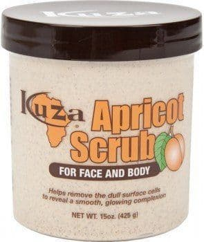 Apricot face and body scrub 15oz / 425 g