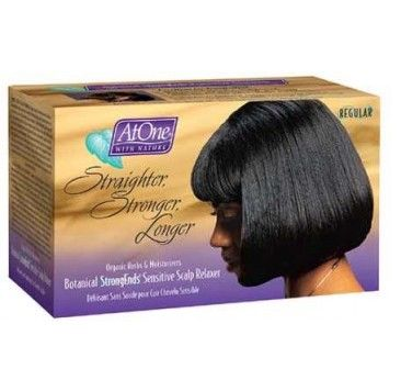AtOne with Nature - Botanical Sensitive Scalp Relaxer Kit - Super
