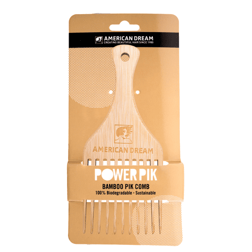 Bamboo Pik Comb 100% Biodegradable and Sustainable Hair Care