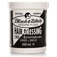 Black & White Genuine Pluko Hair Dressing Pomade 200ml