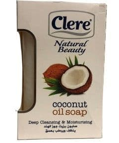 Clere Natural Beauty Coconut Oil Soap 150g