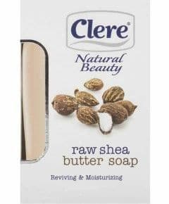 Clere Natural Beauty Raw Shea Butter Soap 150g