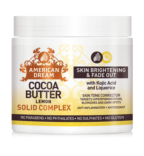 american dream Cocoa Butter Lemon Solid Complex 2oz brand new just like palmers solid cocoa butter but even better