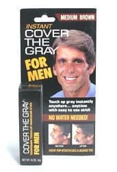 Cover Your Gray Hair Color For Men - Lipstick - black