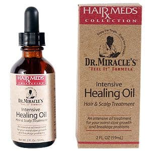 Dr. Miracle's Intensive Healing Oil Hair & Scalp Treatment & Conditioner