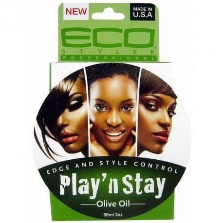 Eco Styler Play N Stay Edge Style Control Olive Oil 90 Ml / 3 oz