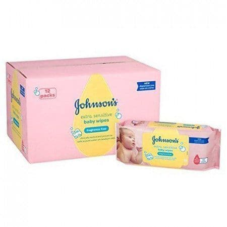 Gentle all over Baby Wipes FULL BOX 672 wipes