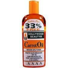 Hollywood Beauty CARROT OIL in Bottle -236ml