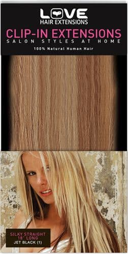 Human Hair Clip-in Extensions