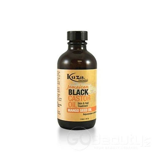JAMAICAN BLACK CASTOR OIL MANGO SEED OIL 4OZ / 118 ml