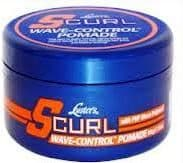 Luster's S-Curl - WAVE-CONTROL POMADE with PVP Wave Polymer - 85g