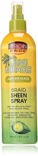 Olive Miracle Braid Sheen Spray 355ml