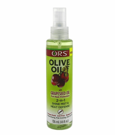 Olive Oil 2-N-1 Shine Mist & Heat Defense 4.6 oz / 136 ml