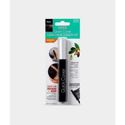 QUICK COVER GRAY HAIR TOUCH UP BRUSH - BLACK