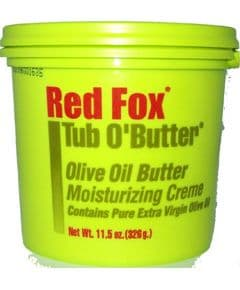 Red Fox Tub O Butter Olive Oil Moisturizing Creme 326g