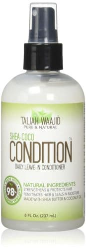 TALIAH WAAJID Shea-Coco CONDITION Daily Leave-in Conditioner NATURAL Ingredients 8oz