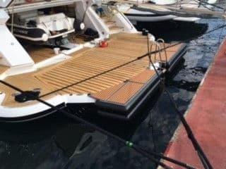 Inflatable yacht equipment