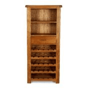 earlswood tall wine rack cabinet