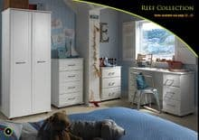 MSR Deluxe White Contemporary Range Narrow Chests