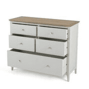 ranford wide 5 drawer chest