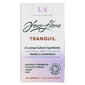 Living Nutrition Your Flora Tranquil 60 Caps