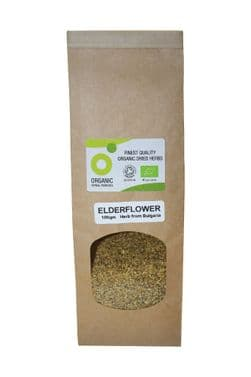 Organic Elderflower 50gm